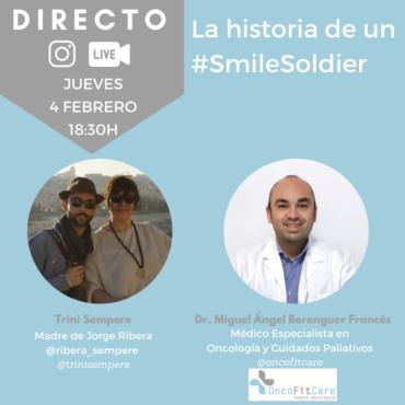 La historia de un #SmileSoldier, Jorge Ribera Sempere