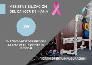 Sensibilización del cáncer de mama